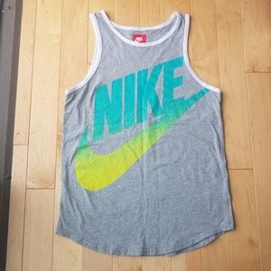Nike tank workout crossfit size XL gray NWOT